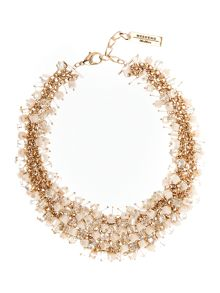 Max Mara DIALOGO mixed bead necklace