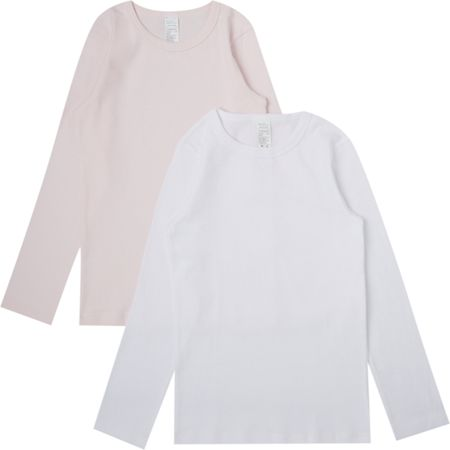 Benetton Girls Long Sleeve T-shirt 2 Pack