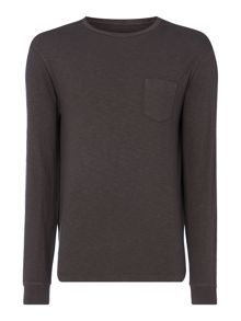 Label Lab Hedge Long Sleeve Pocket Tee
