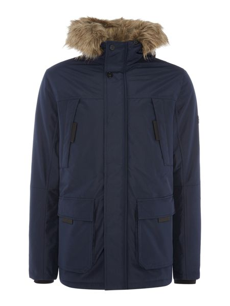 Jack & Jones Zip-Through Parka Jacket
