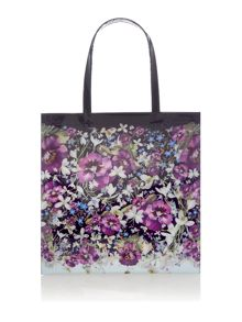 Ted Baker Alencon large floral bowcon bag