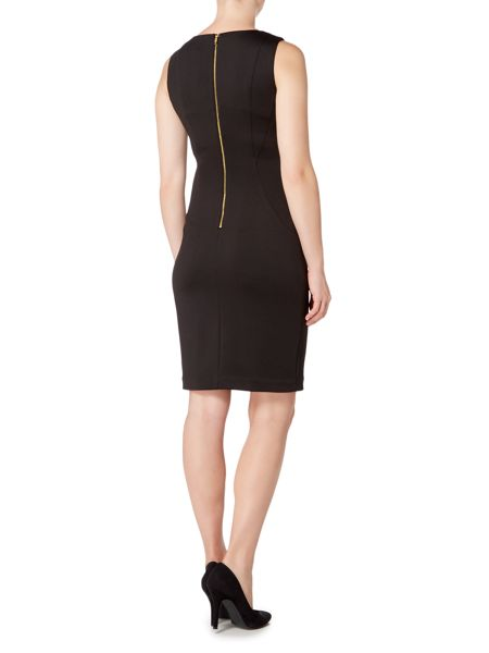 Episode Shift dress with exposed zip