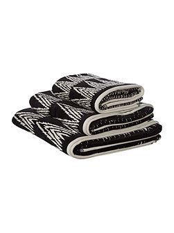 Tribe all over pattern towels