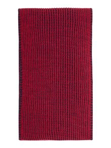 Benetton Girls Stripe Knitted Scarf