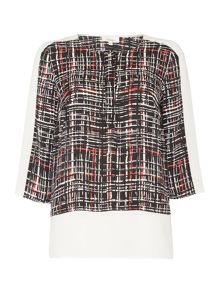 Linea Colour block blouse