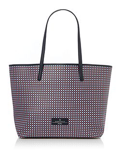 Poisson printed shopper bag