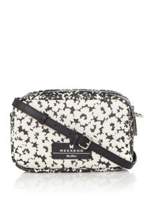 Max Mara DECANO floral print cross body bag