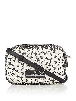 DECANO floral print cross body bag