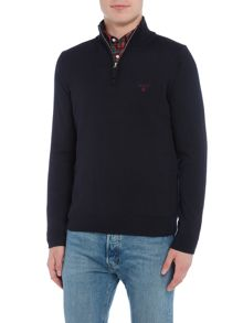 Gant Cotton Half-Zip Knitted Jumper
