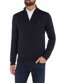 Gant Cotton Full-Zip Knitted Cardigan
