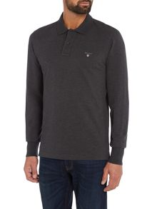 Gant Long-Sleeve Polo Shirt