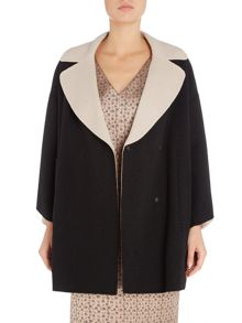 Max Mara TURBIGO 3/4 sleeve double breasted coat