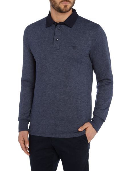 Gant Long-Sleeve Plain Rugby