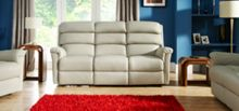 La-Z-Boy Avenger Leather 3 Seater Static Sofa