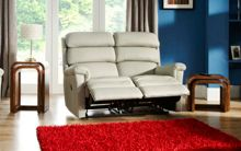 La-Z-Boy Avenger Leather 2 Seater Power Sofa