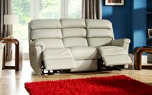 La-Z-Boy Avenger Leather 3 Seater Power Sofa