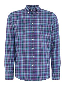 Cotton Tartan Long-Sleeve Shirt