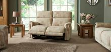 La-Z-Boy Jacksonville Fabric 2 Seater Manual Sofa
