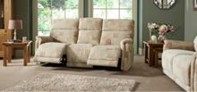 La-Z-Boy Jacksonville Fabric 3 Seater Manual Sofa