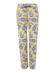 Dickins & Jones Ochre floral butterfly trouser