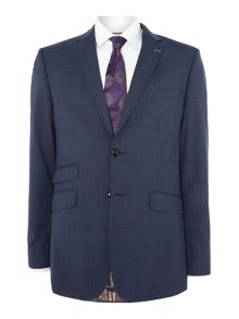 Ted Baker Notch Lapel Check Jacket