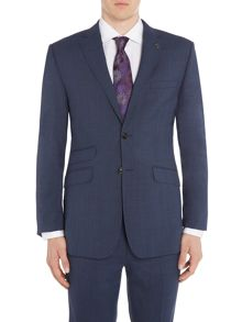 Ted Baker Drain Slim Fit Check Jacket