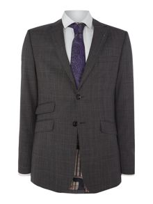 Ted Baker Case Slim Fit Fit Check Jacket