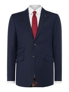 Ted Baker Ted Baker Slim Notch Lapel Textured Jacket