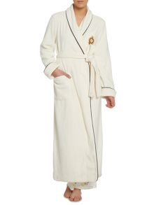 Lauren Ralph Lauren Folded shawl collar long robe
