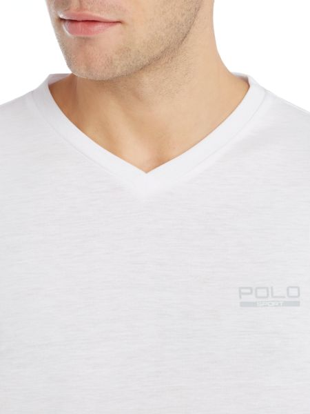 Polo Sport v neck short sleeve tee