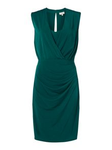 Linea Slinky plunge dress