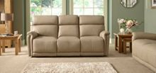 La-Z-Boy Jacksonville Leather 3 Seater Static Sofa