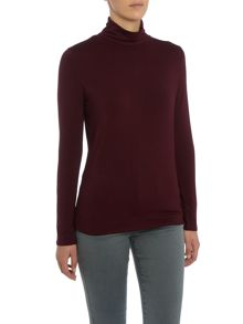 Repeat Cashmere Roll neck top