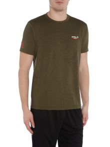 Polo Sport Tech semi plain short sleeve tee