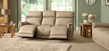 La-Z-Boy Jacksonville Leather 3 Seater Manual Sofa