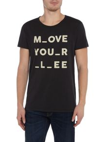 Lee Short sleeve move your lee t-shirt
