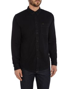 Lee Long sleeve button down denim shirt