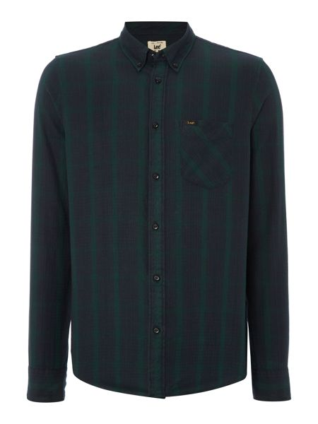 Lee Long sleeve button down check shirt