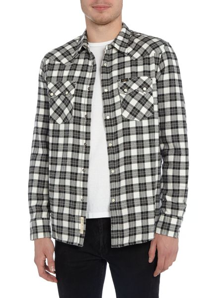 Lee Long sleeve western check shirt
