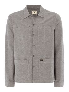 Lee Long sleeve button down over shirt
