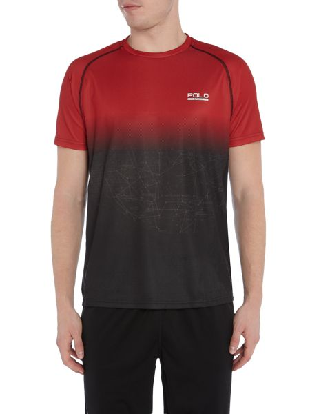 Polo Sport Crew neck short sleeve tech mirco dot tee