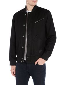 Lee Baseball collar bomber jacket