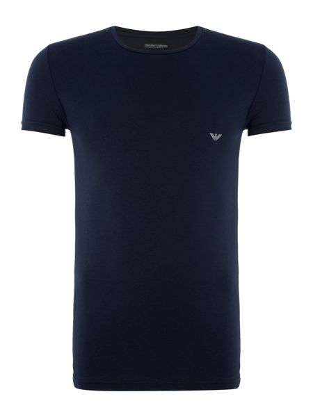 Emporio Armani Small Eagle Logo T Shirt