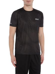 Polo Sport Hex print short sleeve tee