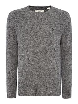 Lambswool Crew-Neck Knitted Jumper