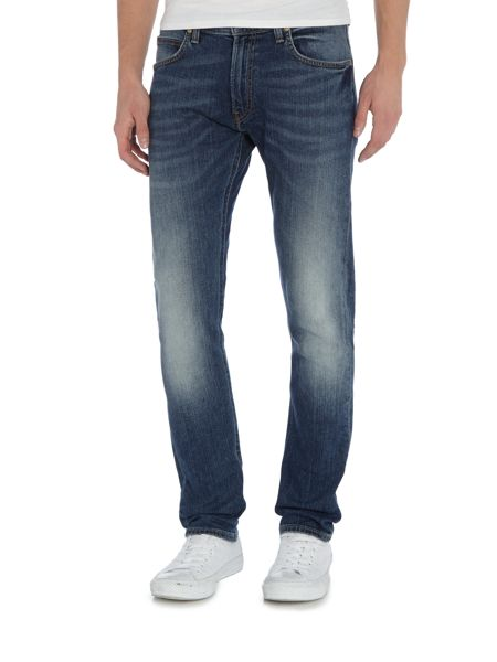 Lee Luke tapered fit light wash jeans