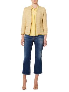 Max Mara Anny metallic boucle jacket