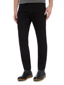 Lee Rider slim leg black jeans