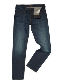 Lee Powel slim fit low rise mid wash jeans