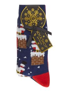 Sockshop 3 Pack Santa Christmas Socks
